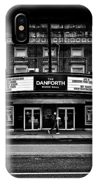IPhone Case featuring the photograph The Danforth Music Hall Toronto Canada No 1 by Brian Carson