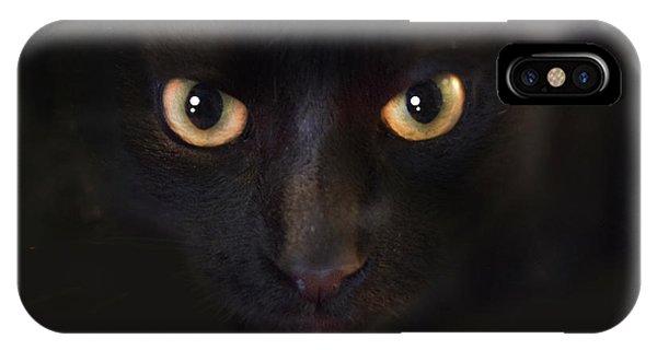 The Dark Cat IPhone Case