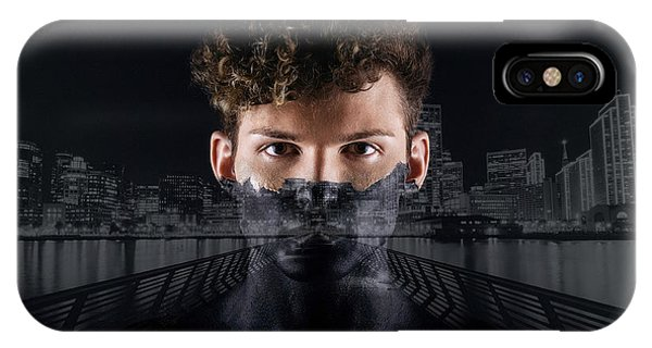 The Dark Side Of A City Boy IPhone Case