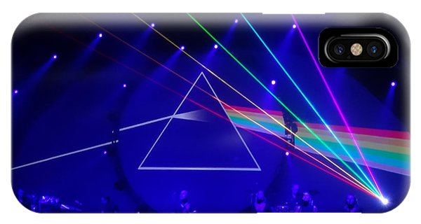 The Dark Side Of The Moon. Brit Floyd Space And Time World Tour 2015 IPhone Case