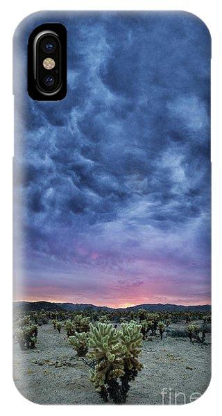 The Dark Sunset 2 IPhone Case