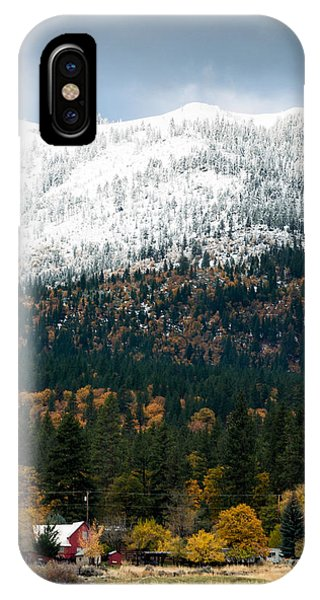 IPhone Case featuring the photograph The Dawn Of Winter by The Couso Collection
