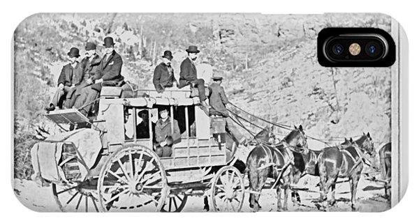 The Deadwood Coach IPhone Case