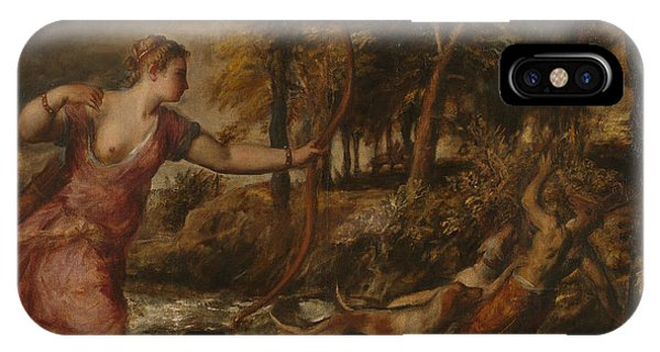 The Death Of Actaeon IPhone Case
