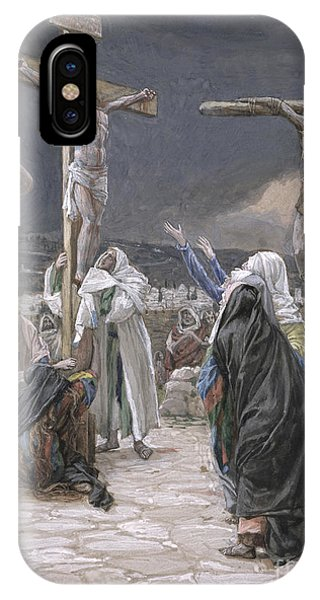 Life Of Christ iPhone Case - The Death Of Jesus by Tissot