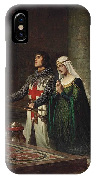 20th Century Man iPhone Case - The Dedication by Edmund Leighton