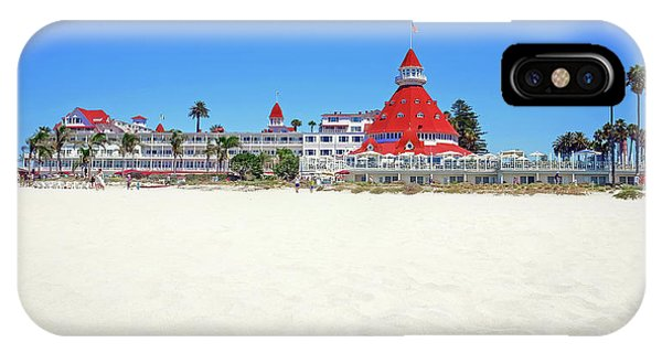The Del Coronado Hotel San Diego California IPhone Case