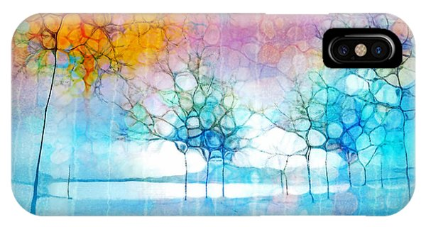 The Departing Trees IPhone Case