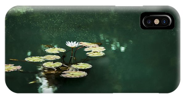 iPhone Case - The Depths Of Lily by Margie Hurwich