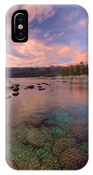 IPhone Case featuring the photograph   The Depths Of Sundown by Sean Sarsfield