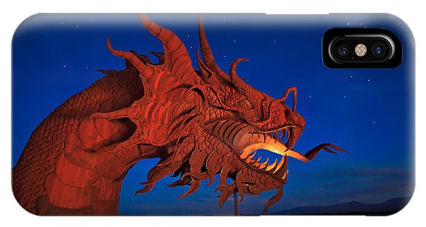 Sam Avery iPhone Case - The Desert Serpent Under A Starry Night by Sam Antonio Photography