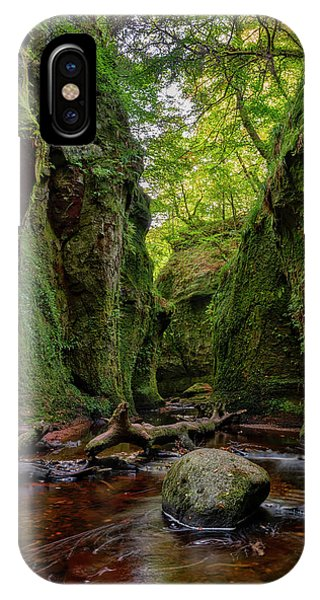The Devil Pulpit At Finnich Glen IPhone Case