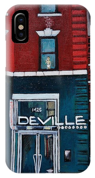 The Deville IPhone Case