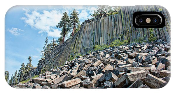 The Devil's Postpile IPhone Case