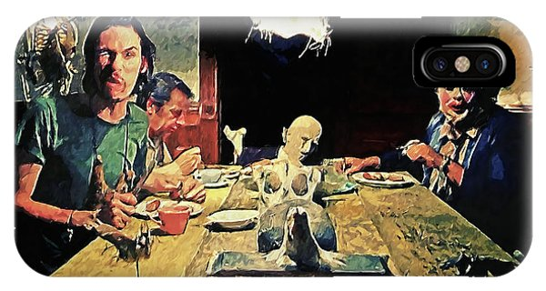 The Dinner Scene - Texas Chainsaw IPhone Case