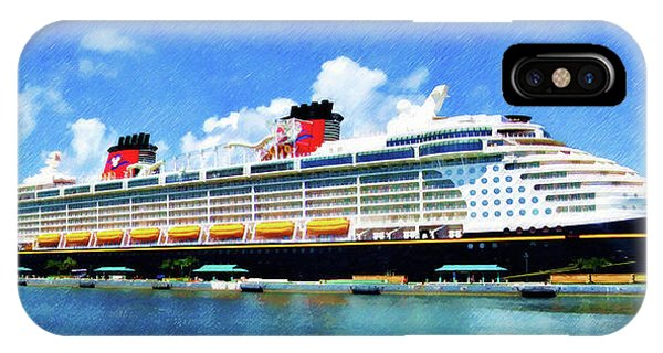 The Disney Dream In Nassau IPhone Case