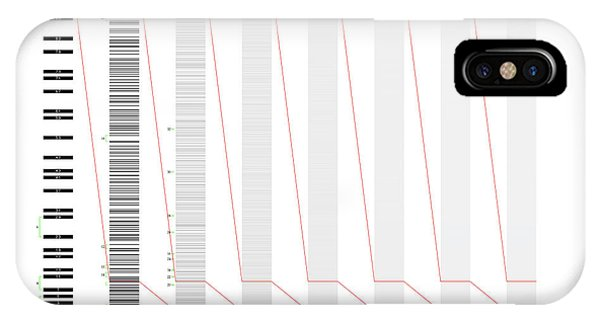 The Distribution Of Primes Phone Case by Martin Weissman