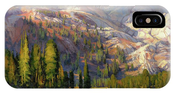 California iPhone Case - The Divide by Steve Henderson