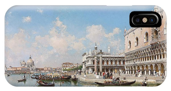 The Doge's Palace And Santa Maria Della Salute IPhone Case