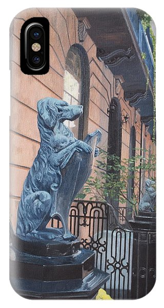 The Dogs On West Tenth Street, New York, Ny  IPhone Case
