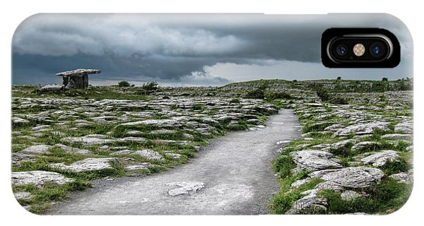 The Dolmen In The Burren IPhone Case