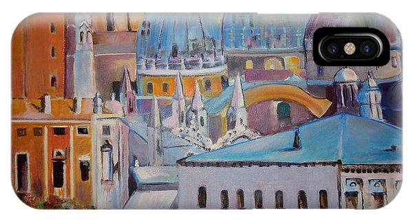 The Domes In Italy IPhone Case