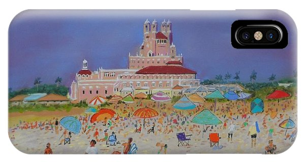 The Don Cesar,st.pete's Beach IPhone Case