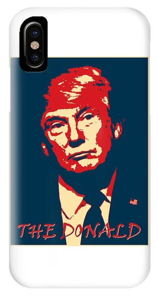 IPhone Case featuring the digital art The Donald by Richard Reeve