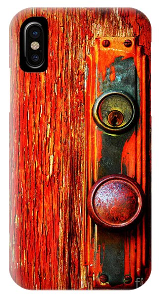 The Door Handle  IPhone Case