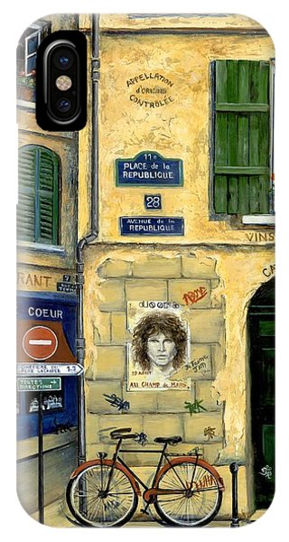 Street Sign iPhone Case - The Doors by Marilyn Dunlap