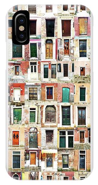 The Doors Of Murano Italy IPhone Case