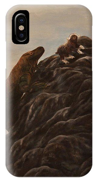 The Dragon And The Ox IPhone Case