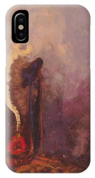 Illusion iPhone Case - The Dream  by Odilon Redon