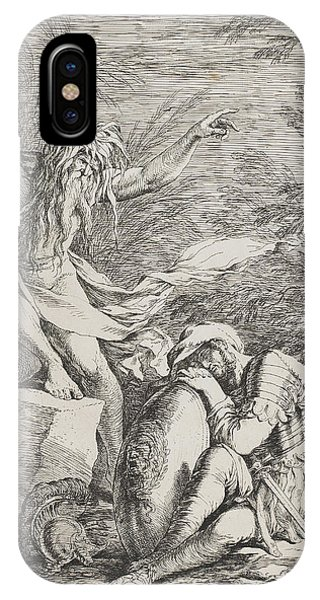 Rosa iPhone Case - The Dream Of Aeneas by Salvator Rosa