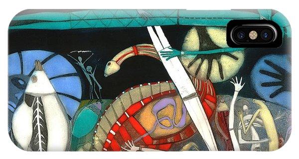 Kangaroo iPhone Case - The Dream Of The Fish by Annael Anelia Pavlova
