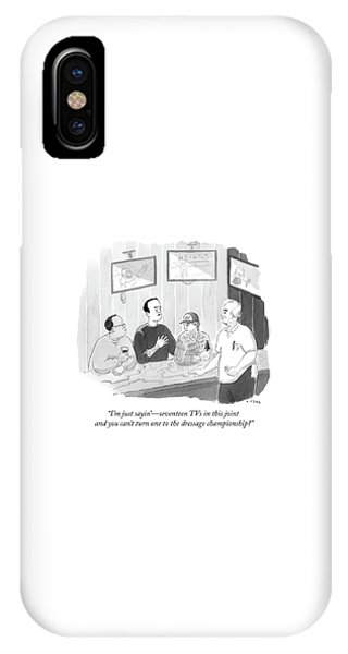 The Dressage Fan IPhone Case