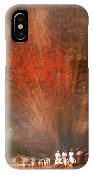 IPhone Case featuring the photograph The Drumbeat Rising by Wayne King