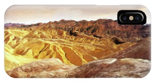 Barren iPhone Case - The Dry Lands by Sarah Kirk