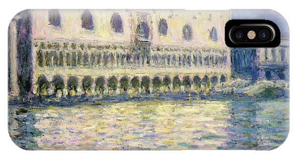 Palace iPhone Case - The Ducal Palace by Claude Monet