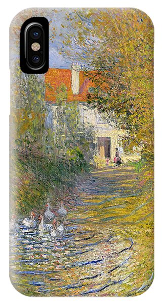 Exterior iPhone Case - The Duck Pond by Claude Monet
