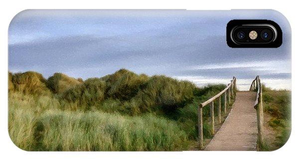 The Dune Bridge IPhone Case