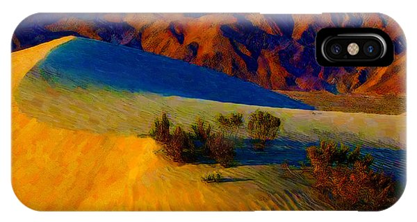 The Dunes At Dusk IPhone Case