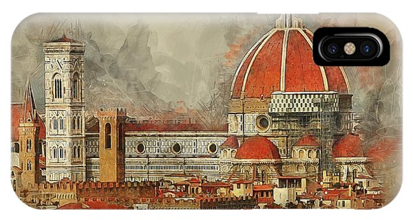 The Duomo Florence IPhone Case