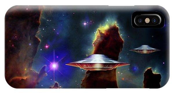 The  Eagle  Nebula  IPhone Case