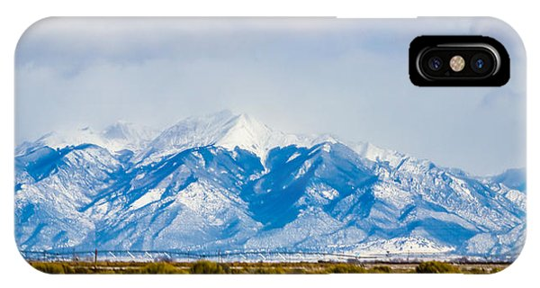 Sangre De Cristo iPhone Case - The Eagle Or Condor And Heart by Kenneth Michel