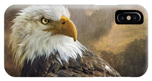 The Eagle's Stare IPhone Case