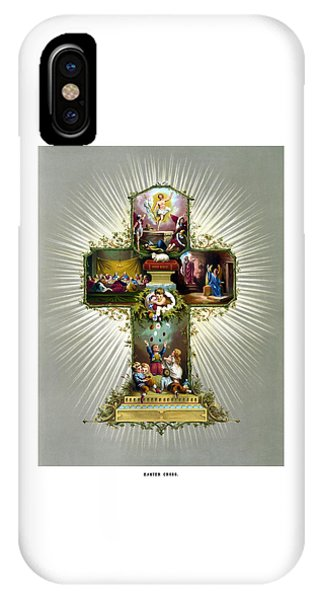 The Easter Cross IPhone Case