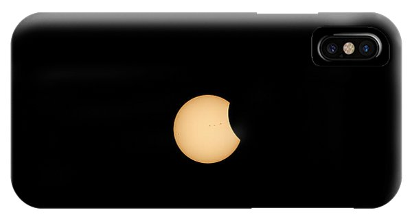 The Eclipse Begins IPhone Case