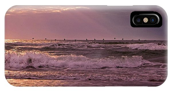 Tidal iPhone Case - The Edge  by Betsy Knapp