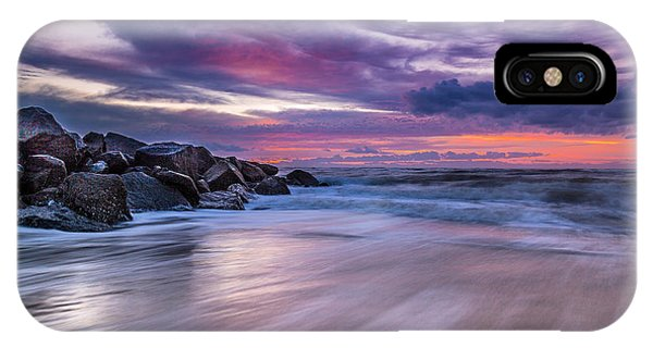 The Edge - Folly Beach, Sc IPhone Case